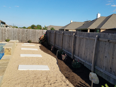 landscaping walkway